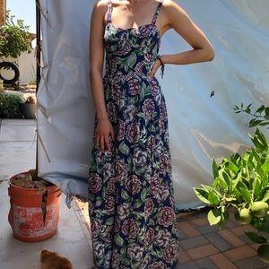 🌻Multicolor floral maxi dress